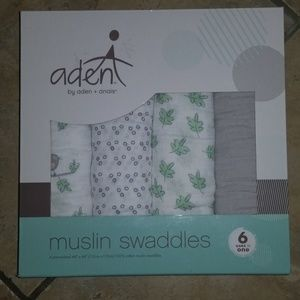 aden + anais Other - Aden Muslin Swaddle blankets